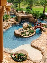 Backyard Pool Designs Landscaping Pools Magnificent Pin By Karolos R On Pool Pinterest House Backyard And Swimming