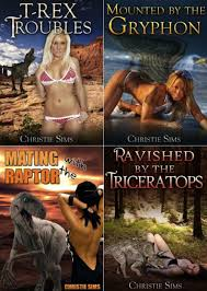 HILARIOUS: Christie Sims and her beast erotica books | Personality Cafe