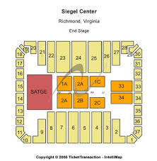 Center Stage Richmond Va Seating Chart Stuart C Siegel Center Tickets And Stuart C Siegel Center