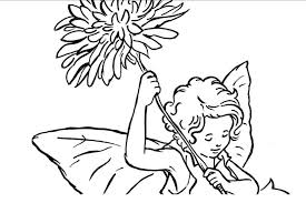 Small Picture Fresh Flower Fairy Coloring Pages Cool Book Ga 3398 Unknown