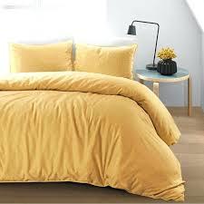 cotton linen duvet cover set home what is a king size