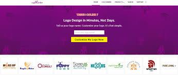 7 situs cara membuat logo keren online gratis untuk website logo maker custom logo design logogarden