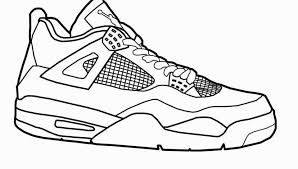 Formidablee Shoes Coloring Pages Printable Jordans Download Them And