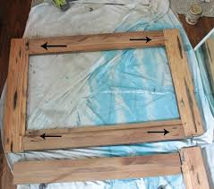 wood mirror frame. Diy Reclaimed Wood Frames Mirror Frame
