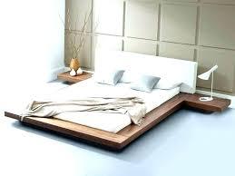 solid wood queen bed platform wooden frame87