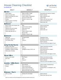 um to large size of house cleaning checklist template uk for maid printable inspection weekly pdf