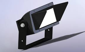 compact reach glare shield for philips color kinetics lighting system