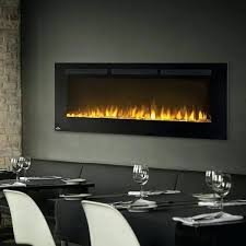 50 inch wall mount electric fireplace with glass liberty