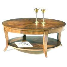 circle coffee table featured image of white