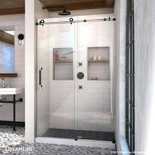 enigma x sliding shower door clear glass tuxedo dreamline installation instructions