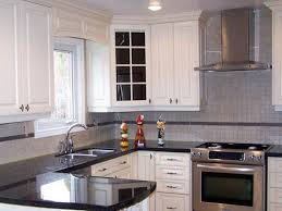 Painting Over Oak Kitchen Cabinets Popular White Oak Kitchen Cabinets Small Kitchen Gallery
