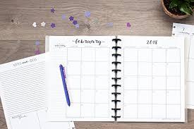 Monthly Academic Calendar