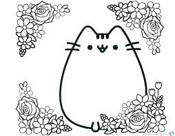 Floral Coloring Pages Coloring Page Of Flower Flower Coloring Page