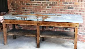 diy outdoor table. When She Got This Massive Table Diy Outdoor