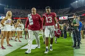 Alabama Qb Tua Tagovailoa Injured Will Sit Out Top Ranked