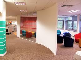 peaceful creative office space. Image Of IFS Curved Office Walls Peaceful Creative Space E