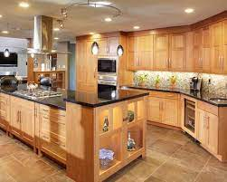 Like This A Lot Note Under Cabinet Lighting Contemporary Oak Kitchen Contemporary Kitchen Kitchen Design