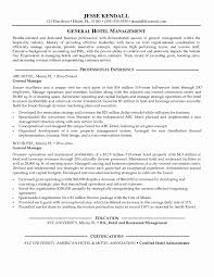 Resume Examples For Hotel Jobs Best Of Hotel Management Resume