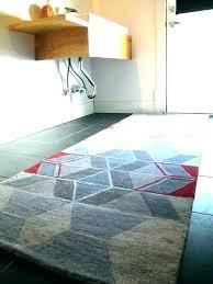 bathroom rug runner rugs x by bath long navy blue sets