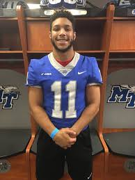 "Ivan Vaughn II on Twitter: ""Middle Tennessee State!!!🔵⚪️☝️… """