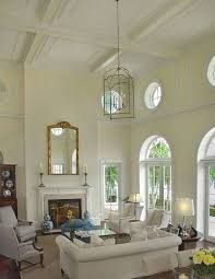 living room false ceiling design with fan using white sofa and set dining table with outstanding popular living room designs with classic french chair