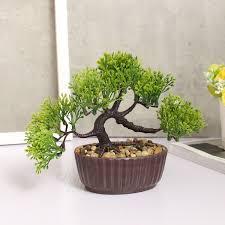 bonsai tree for office. Firm-Pine-Bonsai-Tree-Pot-Artificial-Plant-for- Bonsai Tree For Office -