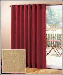 door curtains grommet