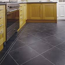 ... Tile & vinyl are also resistant to grease, making them very popular kitchen  flooring choices