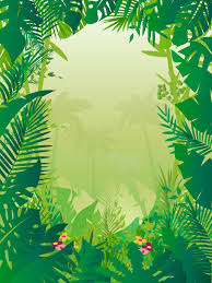 jungle background vector. Wonderful Vector Jungle Background For Vector