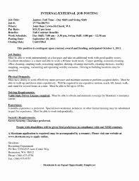 Internal Job Resume Resume Central With Internal Job Cover Letter