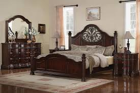 dark cherry wood bedroom furniture solid oak king size bedroom set traditional cherry furniture