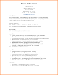 Astounding Word Doc Resume Template Format Download Pdf Entry
