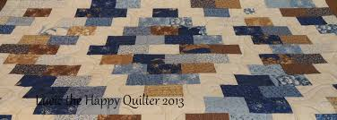 Blueberry Brick Quilt | Lucie The Happy Quilter's Blog & Blueberry Brick quilted Adamdwight.com