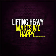 Lifting Quotes Cool Motivational Fitness Quotes Lifting Heavy Makes Me Happy This