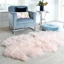 fur floor rug pink sheepskin floor rug gy fur curly hair 4 hide pelt white faux fur floor rug white faux
