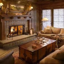 living room decor rustic lodge style