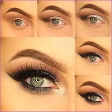 you will need following things to do metallic magic eye makeup