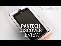 Pantech Discover Review - video dailymotion