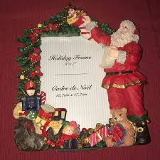 Other Christmas 5x7 Santa Claus Frame Poshmark