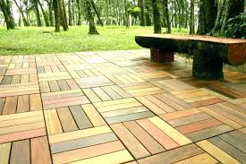 wood tiles for patio how to install interlocking faux deck ideas squares wooden cozy bench reviews