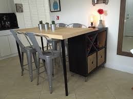 Diy office desk ikea kitchen Bjursta Wall Best Ikea Hacks And Ideas Kallax Shelf Unit And Lack Table Makespace 12 Best Ikea Hacks And Ideas For Every Room In Your Home