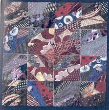 Woof Nanny: More book pics: Necktie Quilts | »Necktie newbies ... & Woof Nanny: More book pics: Necktie Quilts Adamdwight.com