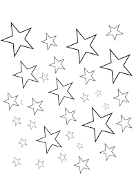 Small Picture Coloring Stars Coloring Pages