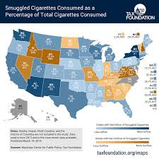 Virginia Sales Tax 2014 Chart How State Taxes Promote An Underground Cigarette Market