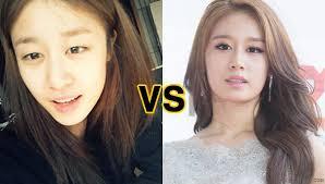 korean actress before after idol nomakeup korean nomakeup idol without makeup