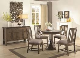 Living Room And Dining Room Sets Coaster Willowbrook Rustic Industrial Round Dining Table With