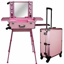 lightirror makeup vidalondon makeup ideas rolling makeup case with lights pro rolling studio makeup artist train