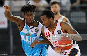 Nicola Akele of Cremona and William Buford of Roma during the LBA... News  Photo - Getty Images