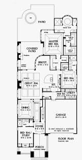 narrow floor plans awesome long narrow house floor plans unique narrow lot house plans