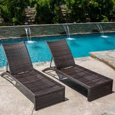 acrion reclining chaise lounge set of 2 pool chaise lounge h85